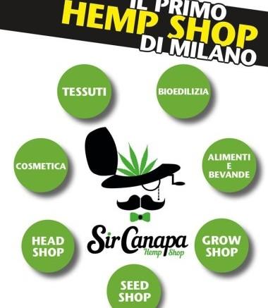 Sir Canapa - Negozio di prodotti Canapa Milano