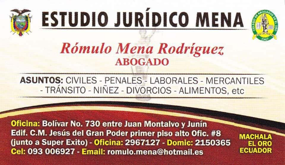 Aboga en Ecuador
